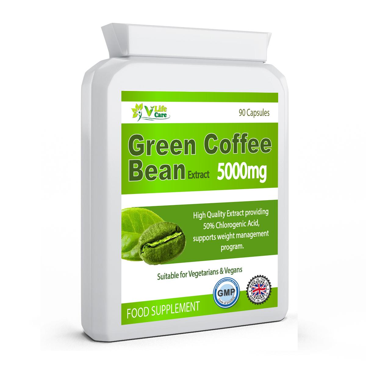 Green Coffee Bean Uk Green Coffee Bean Supplement Vilifecare